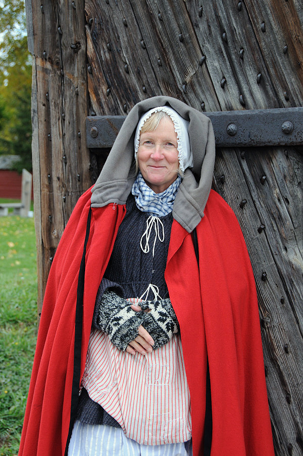 Corporel's wife, Fort George, Ontario