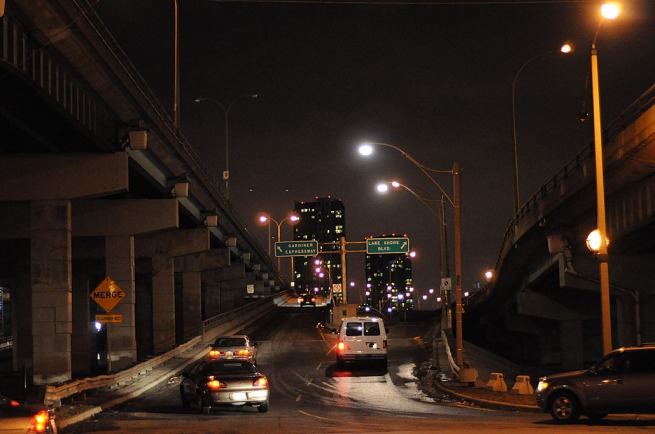 Over Pass Toronto-dec-29
