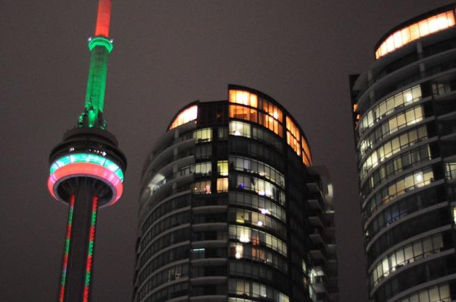 CN Tower Toronto-dec-29