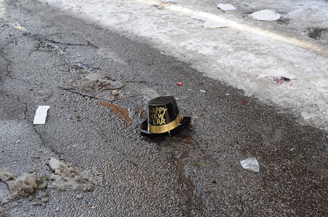 discarded-new-years-hat