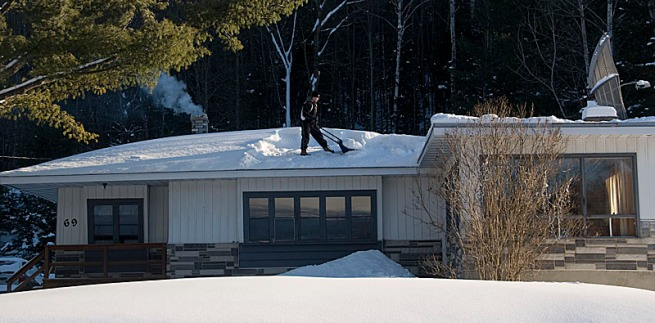 shoveling-off-roof