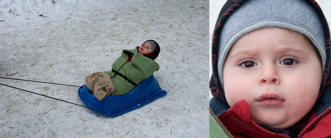 baby-on-sled