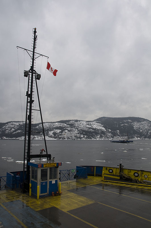flag-on-the-tadoussac-ferry