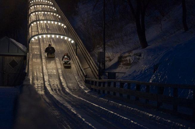 sled-run