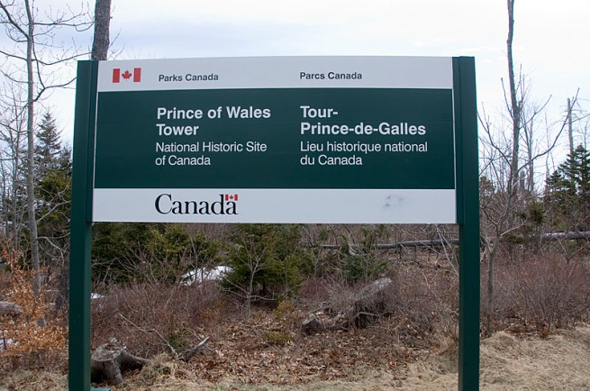 prince-of-wales-tower-sign