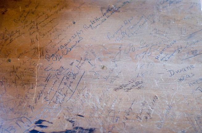 writing-in-drawer