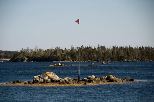 canadian-flag-at-doctors-cove
