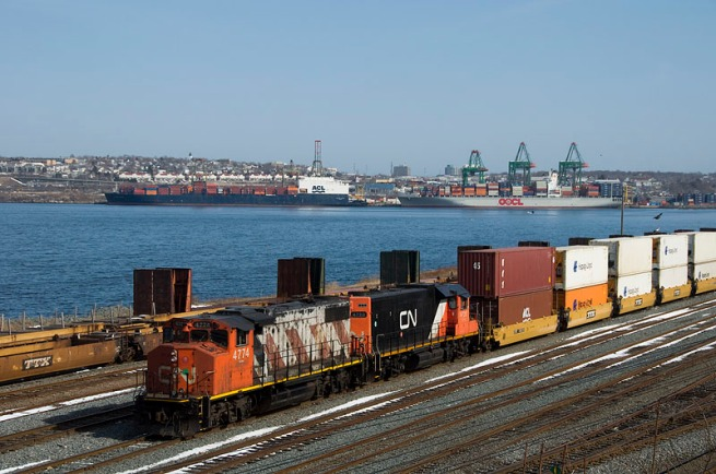 Halifax Is One Of Canada's Most Busy Ports