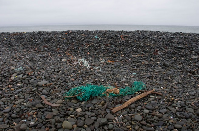 fishing-net-on-beach