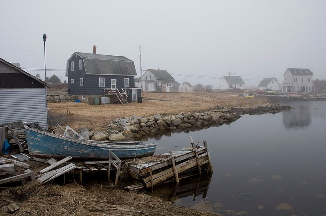 A time gone by, in the rural fishing villages throughout Nova Scotia you can find evidence of the once booming fishing industry that now has died down due to dwinding fish stocks.