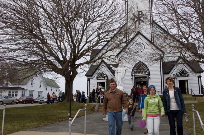 west-pubnico-leaving-church-1
