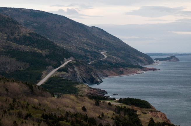 cabot trail near cheticamp