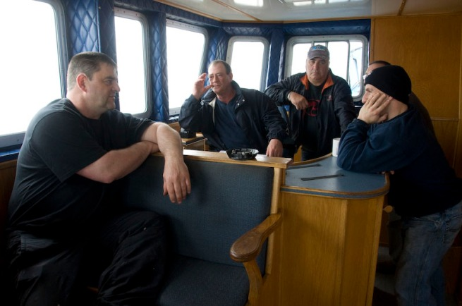 Cheticamp fishing boat chat