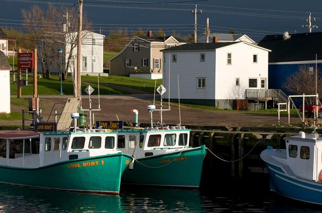 cheticamp love boats