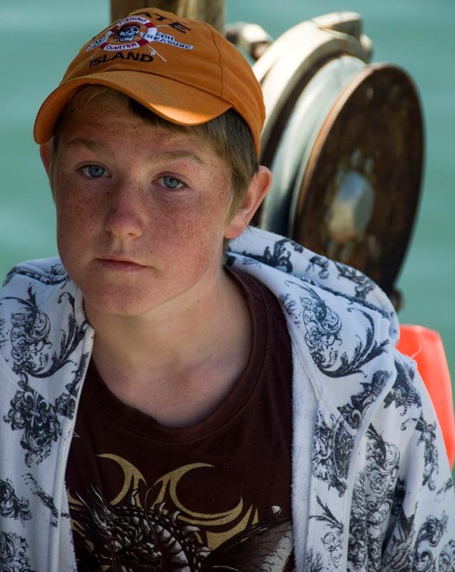 fisherman kid