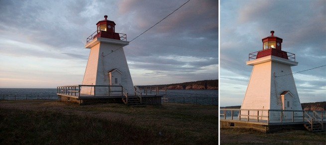 neil's harbour lighthouse