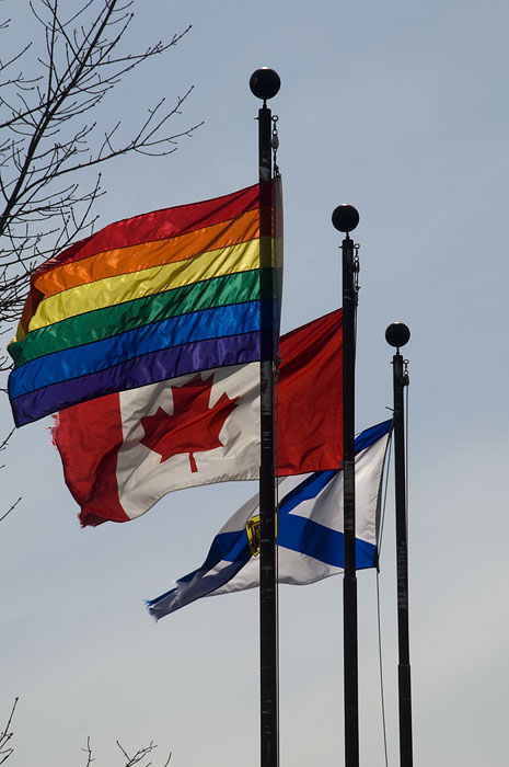 sydney canadaian flag