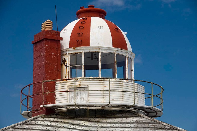 cape spear lighthouse dome detail