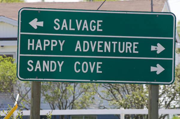 happy adventure sign