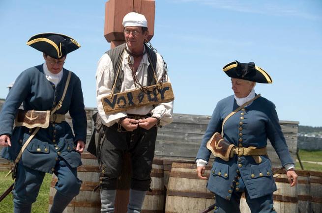 louisburg jailed theif