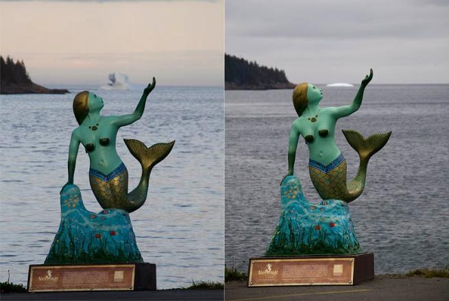mermaid ice berg