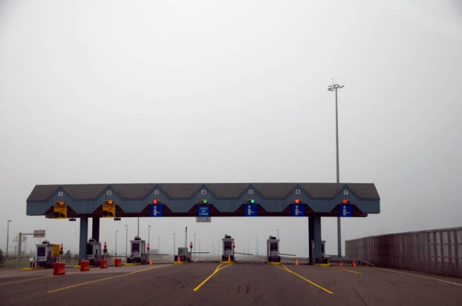 the bridge toll booth