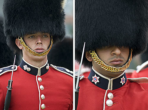 Ceremonial Guards March on Parliament Hill tim van horn
