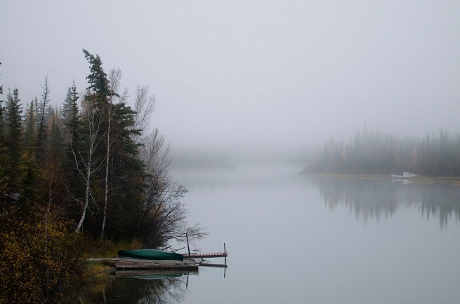canow on the yellowknife river_tim van horn