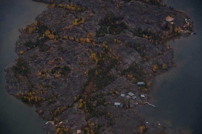 houses  near yellowknife from air_tim van horn