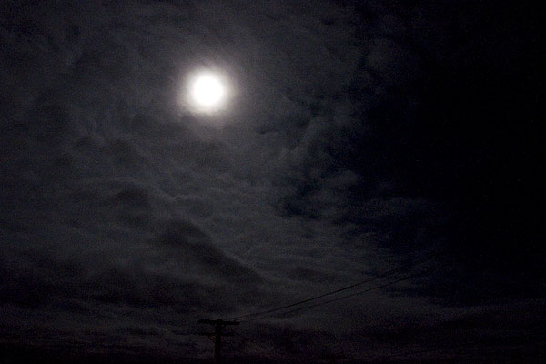 moonlight in yellowknife
