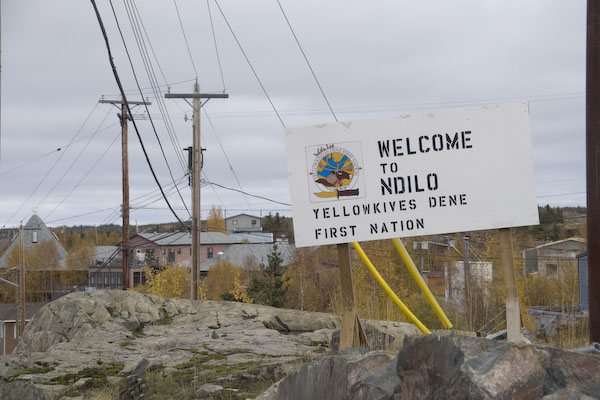 welcome to Ndilo yellowknifes dene first nations