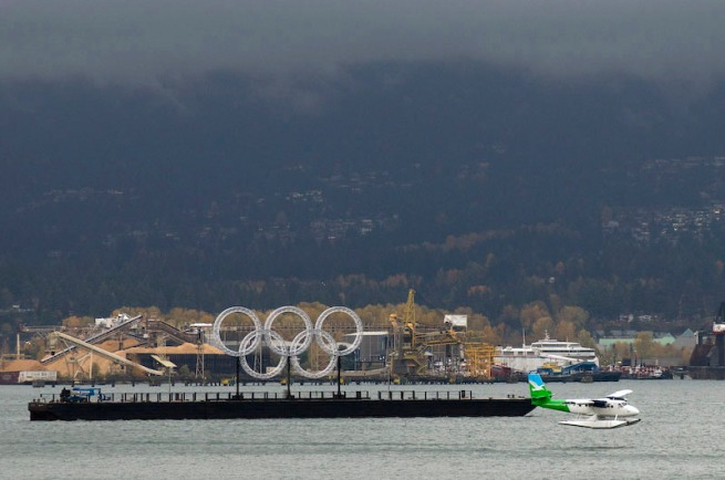 Vancouver 125 - olympic rings