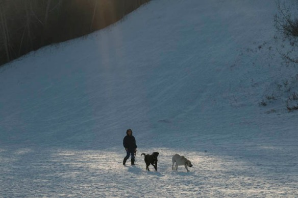Calgary winter exercise