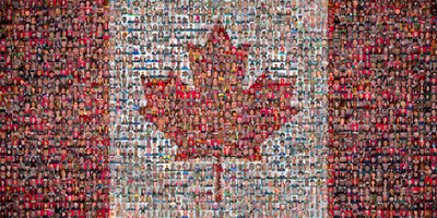 Image result for diversity canadian flag